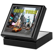 New York Times Square Pro Photo Keepsake Box