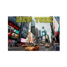 New York Times Square Pro Photo Rectangle Magnet