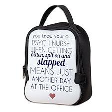 PSYCH NURSES Neoprene Lunch Bag