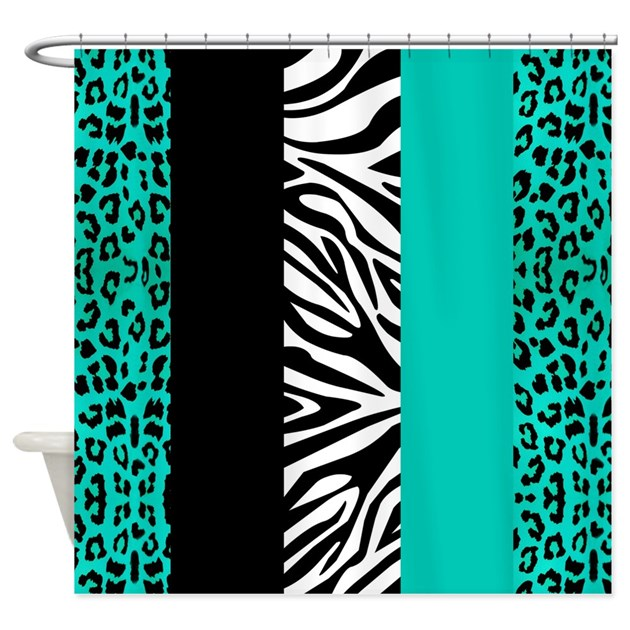 Cute Leopard Print Shower Curtains | Cute Leopard Print Fabric ...
