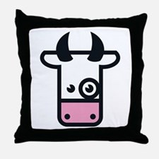 Kuh / Cow / Vache / Vaca / Vacca / Koe Throw Pillo