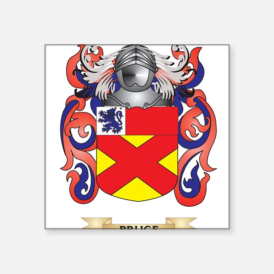 Bruce Coat of Arms Sticker