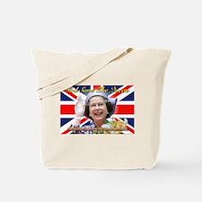 Queen Elizabeth Diamond Jubilee.jpg Tote Bag