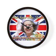 Queen Elizabeth Diamond Jubilee.jpg Wall Clock