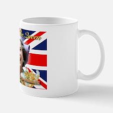 Queen Elizabeth Diamond Jubilee.jpg Small Mug