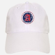 Atlanta born raised blue Baseball Baseball Baseball Cap