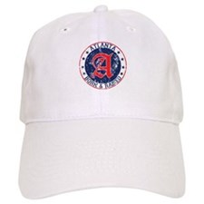Atlanta born raised blue Baseball Baseball Cap