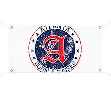 Atlanta born raised blue Banner