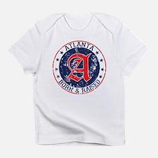 Atlanta born raised blue Infant T-Shirt