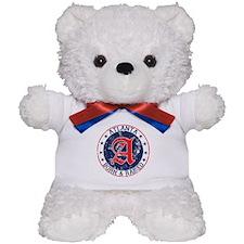Atlanta born raised blue Teddy Bear