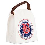 Boston born raised Canvas Lunch Bag
