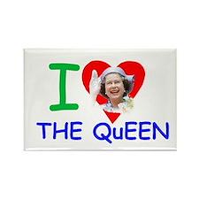 HM Queen Elizabeth II Rectangle Magnet