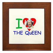 HM Queen Elizabeth II Framed Tile