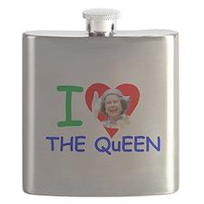 Cute Royal family Flask