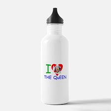 HM Queen Elizabeth II Water Bottle