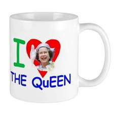 HM Queen Elizabeth II Small Mug