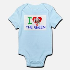 HM Queen Elizabeth II Infant Bodysuit