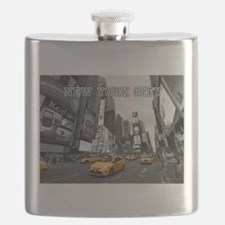 Wow! New York Times Square Pro Photo Flask