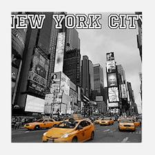 Wow! New York Times Square Pro Photo Tile Coaster