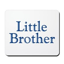 Little Brother (blue) Mousepad
