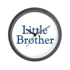 Little Brother (blue) Wall Clock