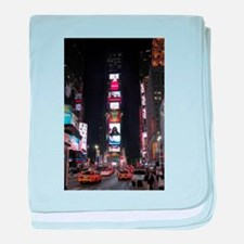 Super! Times Square New York - Pro Ph baby blanket