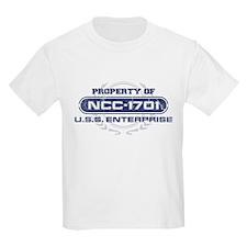 Property of USS Enterprise (NCC-1701) (Blue/Grunge