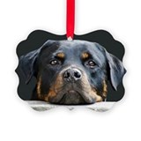 Rottweilers Picture Frame Ornaments