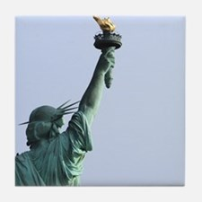 New York Statue of Liberty-Pro Photo Tile Coaster