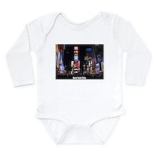 New York Times Square- Long Sleeve Infant Bodysuit