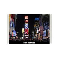 New York Times Square-Pro Photo Rectangle Magnet