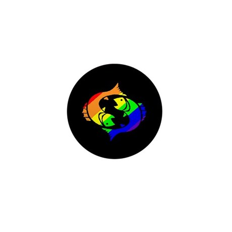 Pisces - Mini Button