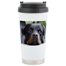 Rottweiler Dog Travel Mug