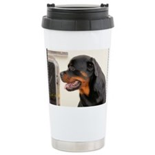 Rottweiler Dog Travel Mug