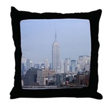 Cute World trade center Throw Pillow