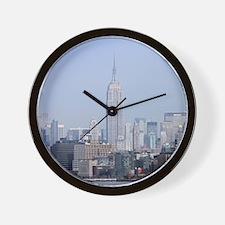 Empire State New York City-Pro Photo Wall Clock