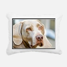 Weimaraner Rectangular Canvas Pillow