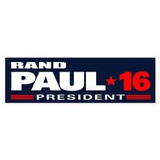 Rand Paul - President Bumper Sticker