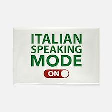 Italian Speaking Mode On Rectangle Magnet