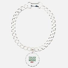Italian Speaking Mode On Bracelet