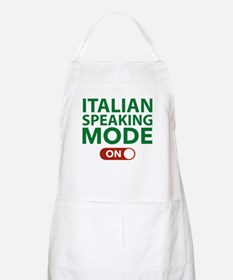 Italian Speaking Mode On Apron