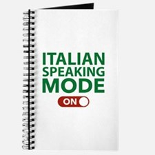 Italian Speaking Mode On Journal