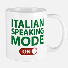 Italian Speaking Mode On Mug