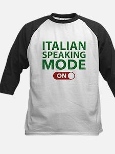 Italian Speaking Mode On Tee