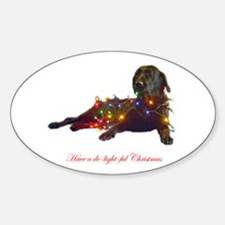 delightful Oval Decal