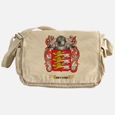 Bryans Coat of Arms Messenger Bag