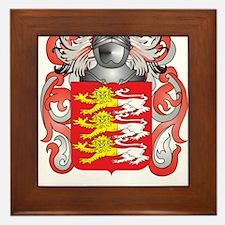 Bryans Coat of Arms Framed Tile