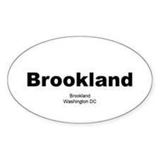 Brookland Oval Decal