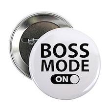 """Boss Mode On 2.25"""" Button"""