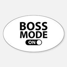 Boss Mode On Decal